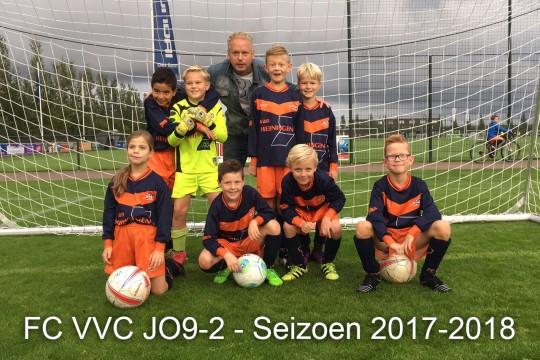 FCVVC JO9 2 Seizoen 2017 2018