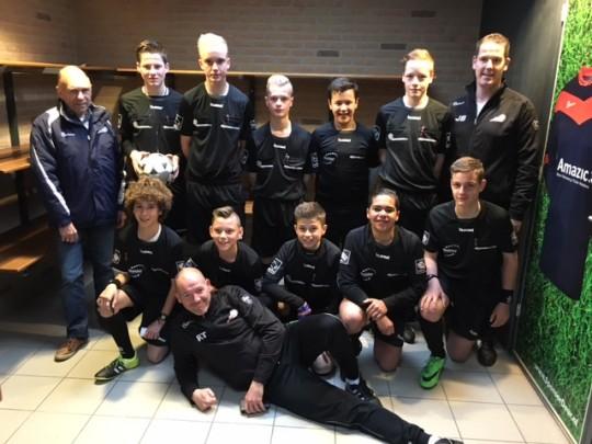 Scheidsrechters schoolvoetbal2016
