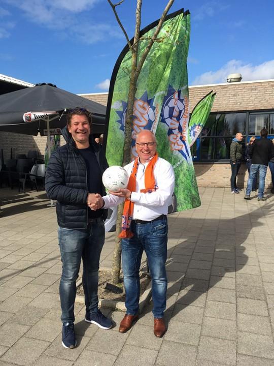 Wedstrijdbal sponsor Griffione Consulting