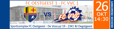 FC OESTGEEST 1 - FC VVC 1